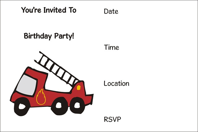 free printable birthday party invitations archives