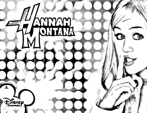 Get The Best Of Both Worlds With These Free Hannah Montana Printable Coloring Pages