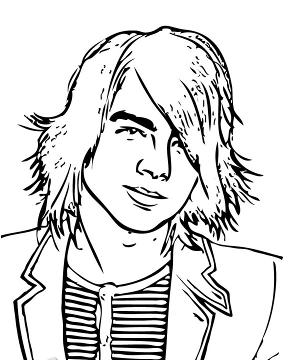 camp rock coloring pages Archives -