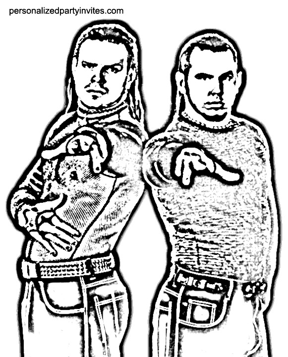 jeff hardy coloring page Archives