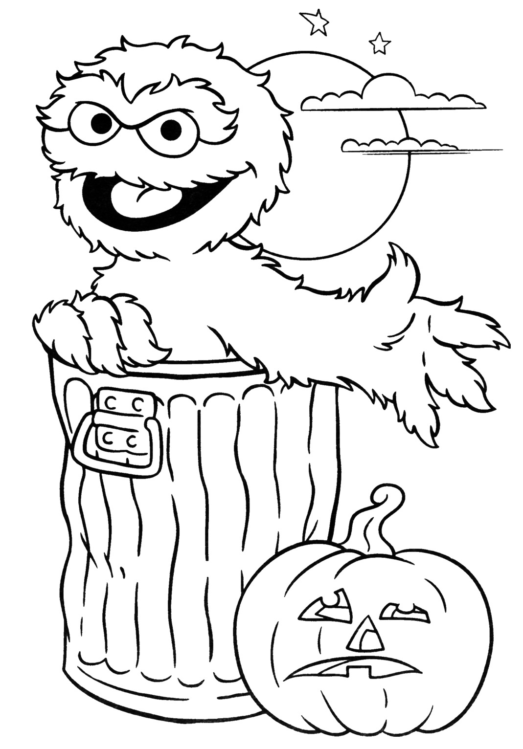 coloring pages of halloween - free archives