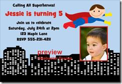 free superman invitation Archives