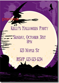 mummy halloween party invitation witch halloween invitation