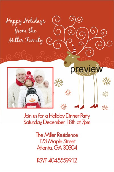 Holiday Christmas Party Invitations–Personalized Custom: www.personalizedpartyinvites.com/birthdaypartyinvitations/tag...