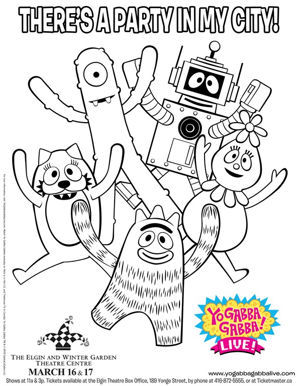 yo gabba gabba archives -, Birthday invitations