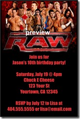 graphic about Wwe Birthday Invitations Printable Free identify wwe printable invitation Archives -