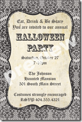 PersonalizedPartyInvites Has Added 4 New Halloween Party Invitation Templates These Feature Vintage Looking Backgrounds And Are Perfect For